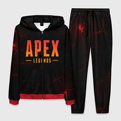Костюм мужской Apex Legends: Dark Game цвета 3D-красный — фото 1