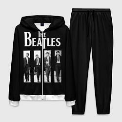 Костюм мужской The Beatles: Black Side цвета 3D-белый — фото 1