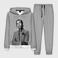 Костюм мужской ASAP Rocky: Grey Fashion цвета 3D-белый — фото 1