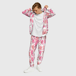 Костюм мужской Рай фламинго цвета 3D-белый — фото 2