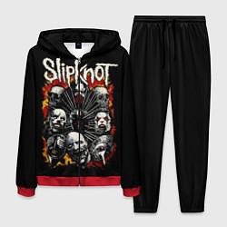 Костюм мужской Slipknot: Faces цвета 3D-красный — фото 1