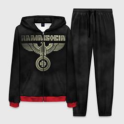 Костюм мужской Rammstein: Metal цвета 3D-красный — фото 1