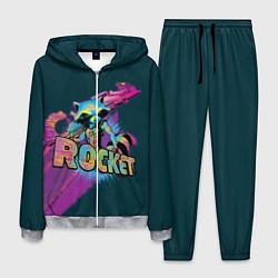 Костюм мужской Rocket цвета 3D-меланж — фото 1
