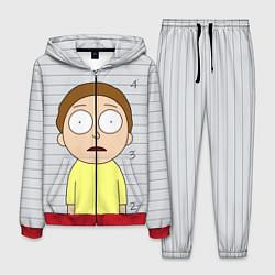Костюм мужской Morty is in Prison цвета 3D-красный — фото 1