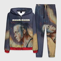 Костюм мужской Rammstein цвета 3D-красный — фото 1