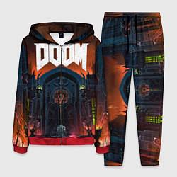 Костюм мужской DOOM - Hellgate цвета 3D-красный — фото 1