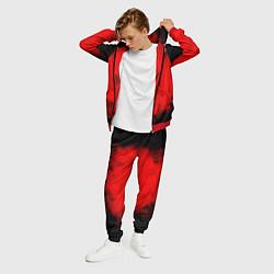 Костюм мужской STRAY KIDS цвета 3D-красный — фото 2