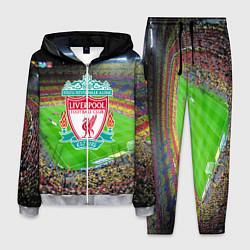 Костюм мужской FC Liverpool цвета 3D-меланж — фото 1
