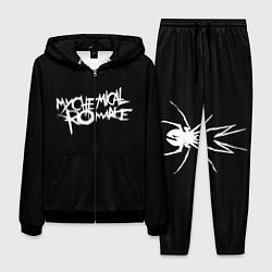 Костюм мужской My Chemical Romance spider цвета 3D-черный — фото 1
