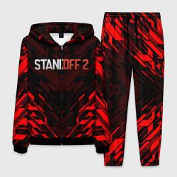 Костюм мужской STANDOFF 2 цвета 3D-черный — фото 1