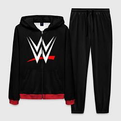 Костюм мужской WWE цвета 3D-красный — фото 1