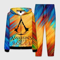 Костюм мужской Assassin's Creed: Rogue цвета 3D-черный — фото 1