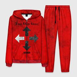 Костюм мужской Three Days Grace цвета 3D-красный — фото 1