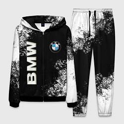 Костюм мужской BMW цвета 3D-черный — фото 1