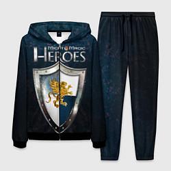 Костюм мужской Heroes of Might and Magic цвета 3D-черный — фото 1