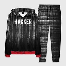 Костюм мужской Hacker цвета 3D-красный — фото 1
