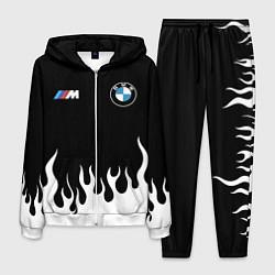 Костюм мужской BMW БМВ цвета 3D-белый — фото 1