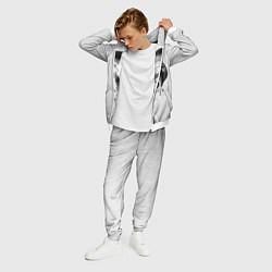 Костюм мужской Тима Белорусских цвета 3D-белый — фото 2