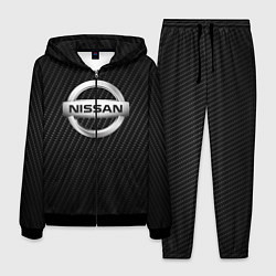 Костюм мужской NISSAN цвета 3D-черный — фото 1