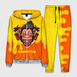 Костюм мужской Summertime обезьяна цвета 3D-меланж — фото 1