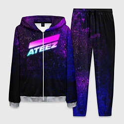 Костюм мужской ATEEZ neon цвета 3D-меланж — фото 1