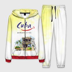 Костюм мужской Куба цвета 3D-красный — фото 1