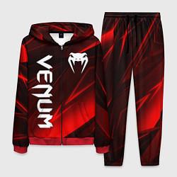Костюм мужской VENUM цвета 3D-красный — фото 1