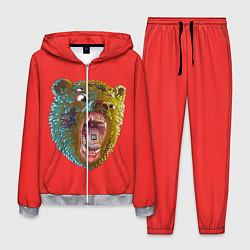 Костюм мужской Little Big: Bear цвета 3D-меланж — фото 1