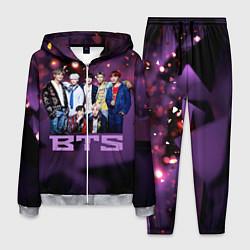 Костюм мужской BTS цвета 3D-меланж — фото 1