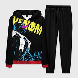 Костюм мужской Venom цвета 3D-красный — фото 1