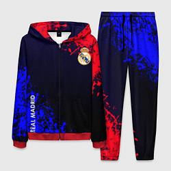 Костюм мужской Real Madrid цвета 3D-красный — фото 1