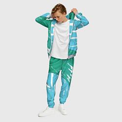 Костюм мужской Balenciaga цвета 3D-меланж — фото 2