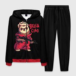 Костюм мужской Bella Ciao цвета 3D-красный — фото 1