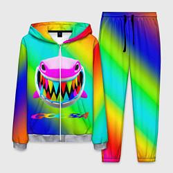 Костюм мужской 6IX9INE цвета 3D-меланж — фото 1