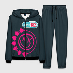 Костюм мужской Blink 182 цвета 3D-черный — фото 1