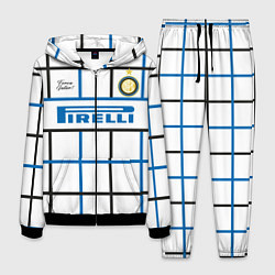 Костюм мужской INTER выездная 2021 цвета 3D-черный — фото 1