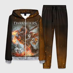 Костюм мужской Darksiders Z цвета 3D-меланж — фото 1