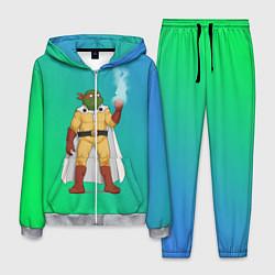 Костюм мужской Генос One Punch Man цвета 3D-меланж — фото 1