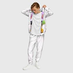 Костюм мужской Моб Психо 100 цвета 3D-белый — фото 2