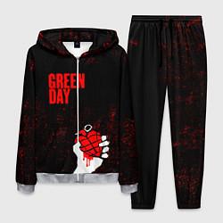 Костюм мужской Green day цвета 3D-меланж — фото 1