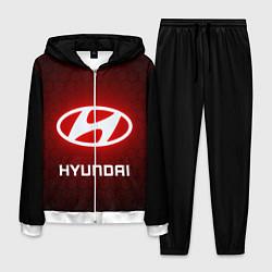 Костюм мужской HYUNDAI ХЕНДАЙ RED STYLE цвета 3D-белый — фото 1