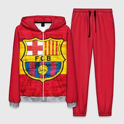 Костюм мужской Barcelona цвета 3D-меланж — фото 1