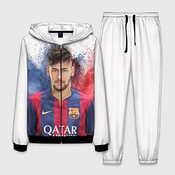 Костюм мужской Neymar FCB цвета 3D-черный — фото 1