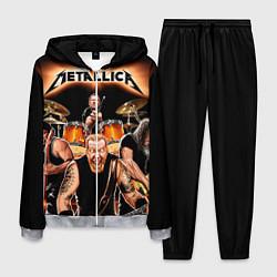 Костюм мужской Metallica Band цвета 3D-меланж — фото 1