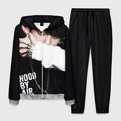 Костюм мужской BTS: Hood by air цвета 3D-меланж — фото 1