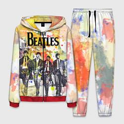 Костюм мужской The Beatles: Colour Spray цвета 3D-красный — фото 1