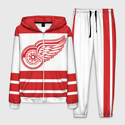 Костюм мужской Detroit Red Wings цвета 3D-белый — фото 1