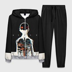 Костюм мужской Three Days Grace: Skeleton цвета 3D-меланж — фото 1