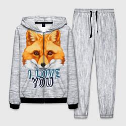Костюм мужской Милая лисичка! цвета 3D-черный — фото 1
