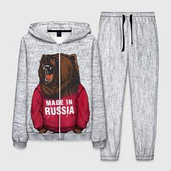 Костюм мужской Made in Russia цвета 3D-меланж — фото 1